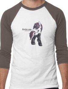 Ante Up Men's Baseball ¾ T-Shirt