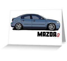 Mazda3 Greeting Card
