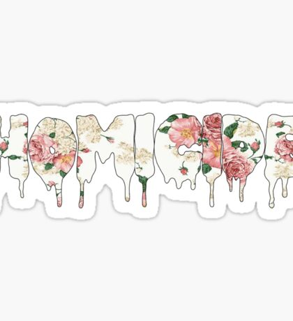 Homicide Sticker