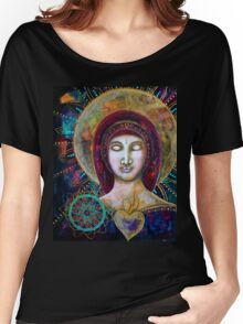 Lady of Compassion Women's Relaxed Fit T-Shirt