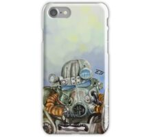 Watercolor of Fallout 4 Power Armor iPhone Case/Skin