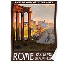 Vintage poster - Rome Poster