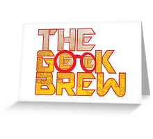 The Geek Brew Retro Logo Greeting Card
