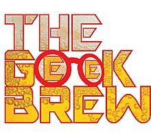 The Geek Brew Retro Logo Photographic Print