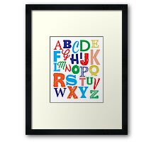 Nursery / Playroom Art Framed Print