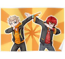 LOOK AT MY DAB // Spark and 707 Poster