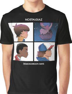 Stranger Things Nostalgiaz Graphic T-Shirt