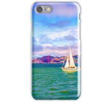 A Golden Sail iPhone Case/Skin