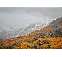 Fall in the Rockies #2 Photographic Print