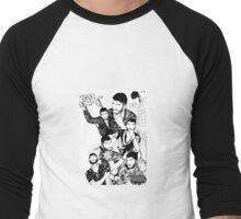Zayn Photoshoot Men's Baseball ¾ T-Shirt