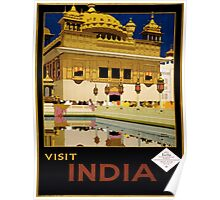 Vintage poster - India Poster