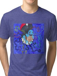Rainbow Squirtle Tri-blend T-Shirt