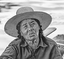 Thai Old Woman by Graham Prentice