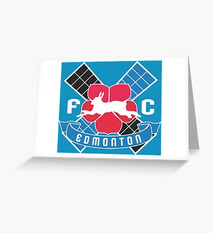FC Edmonton Greeting Card