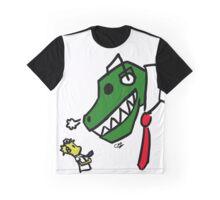 Buddy and Dino Graphic T-Shirt