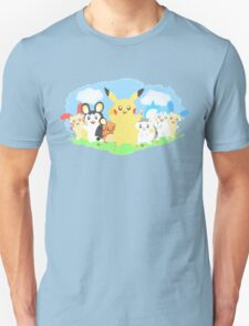 Pikachu & Friends Unisex T-Shirt