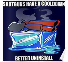 Shotguns have a cooldown... Poster