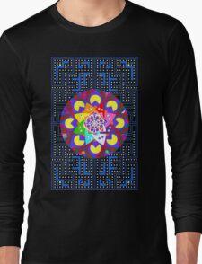 Pac-Mandala Long Sleeve T-Shirt