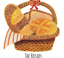 The Breads in the Basket by haidishabrina