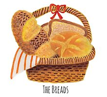 The Breads in the Basket Photographic Print