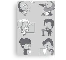 GOOD TIMES WITH SCIENCE Canvas Print