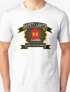 Safety Lights Are For Dudes Holtzmann Ghostbusters Quote Unisex T-Shirt