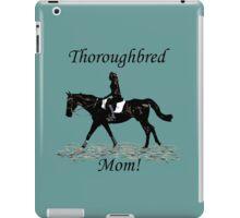 Cute Thoroughbred Mom Horse Design iPad Case/Skin