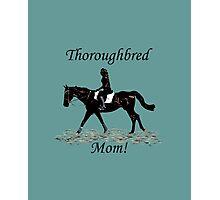 Cute Thoroughbred Mom Horse Design Photographic Print