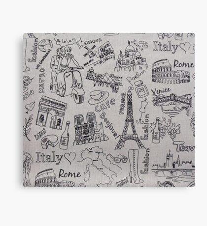 Europe<3 Canvas Print