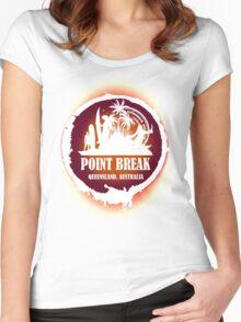 Go Get Wild Beach Women's Fitted Scoop T-Shirt