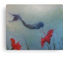 Wandering mermaid Canvas Print