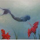 Wandering mermaid by SarahsSeaArt