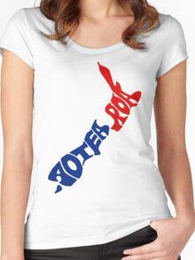 Aotearoa T-Shirt, New Zealand Women's Fitted Scoop T-Shirt