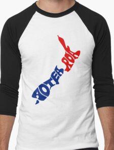 Aotearoa T-Shirt, New Zealand Men's Baseball ¾ T-Shirt