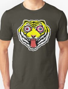Psychedelic Tiger Eyes Unisex T-Shirt