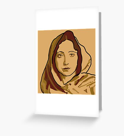 Anaïs Nin Greeting Card
