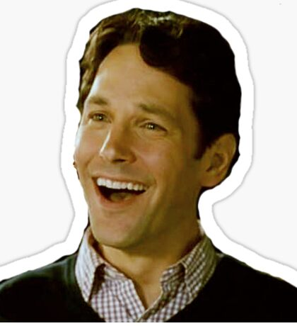 Paul Rudd Laugh Sticker