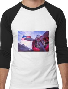 In Remembrance Men's Baseball ¾ T-Shirt