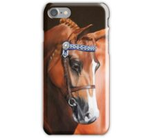 "CPE Quanita   ""Lola"" Hanoverian Mare iPhone Case/Skin"