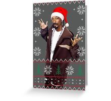 Snoop Christmas Greeting Card