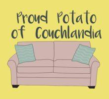 Proud Potato of Couchlandia  Baby Tee
