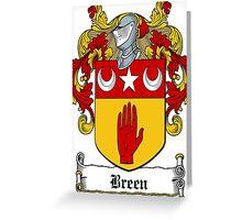 Breen (Kerry)  Greeting Card