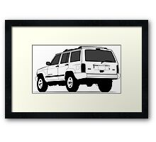 Jeep Cherokee XJ Sport Framed Print