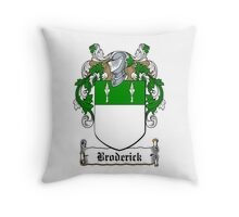 Broderick (Viscount Midleton) Throw Pillow