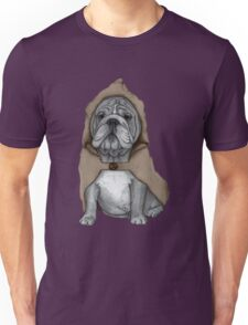 English Bulldog With Stonehenge Unisex T-Shirt