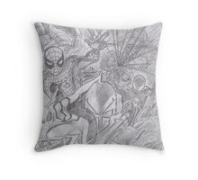 Spider-Man Suits Throw Pillow