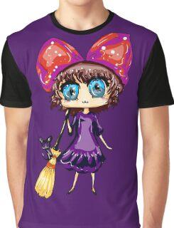 Kiki and her Black Cat~! Graphic T-Shirt