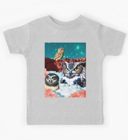 Kindly Owl Gods of the Red Mesa Kids Tee