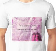 LITERARY BOOK QUOTE Louisa May Alcott  Unisex T-Shirt