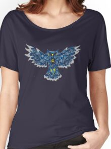 Blue night owl Women's Relaxed Fit T-Shirt